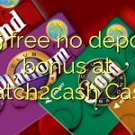 165 free no deposit bonus at Scratch2cash Casino