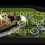 165 free spins casino at Sunset Slots Casino