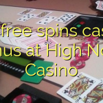 170 free spins casino bonus at High Noon Casino