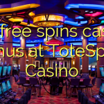175 free spins casino bonus at ToteSport Casino