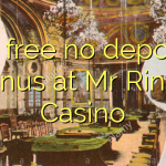 30 free no deposit bonus at Mr Ringo Casino