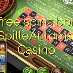 35 free spins bonus at SpilleAutomater Casino