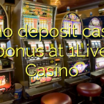 35 no deposit casino bonus at 1Live Casino