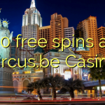 40 free spins at Circus.be Casino