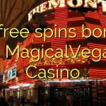 55 free spins bonus at MagicalVegas Casino