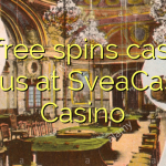 55 free spins casino bonus at SveaCasino Casino