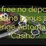 65 free no deposit casino bonus at Sverige Automaten Casino