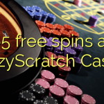 65 free spins at CrazyScratch Casino