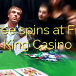 65 free spins at Fruity King Casino