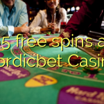 65 free spins at Nordicbet Casino