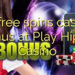 75 free spins casino bonus at Play Hippo Casino