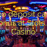80 no deposit casino bonus at Slots.lv Casino