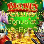85 free no deposit bonus at JenningsBet Casino