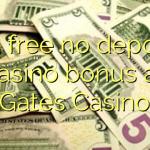 115 free no deposit casino bonus at Gates Casino