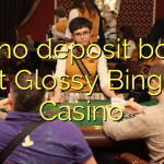 130 no deposit bonus at Glossy Bingo Casino