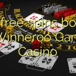 135 free spins bonus at Winneroo Games Casino
