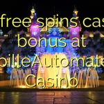 155 free spins casino bonus at SpilleAutomater Casino