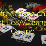 160 free spins casino at LesACasino Casino