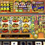 20 free spins at Bella Vegas Casino
