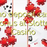 20 no deposit casino bonus at Slotter Casino