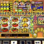 65 free no deposit bonus at Yako Casino