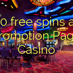 70 free spins at Promotion Page Casino