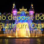 70 no deposit bonus at Platinum Casino