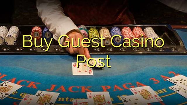 Köp Guest Casino Post
