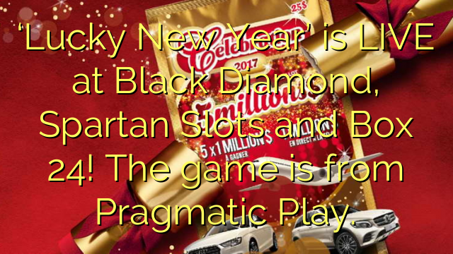 'Lucky New Year' er LIVE hos Black Diamond, Spartan Slots og Box 24! Spillet er fra Pragmatic Play.