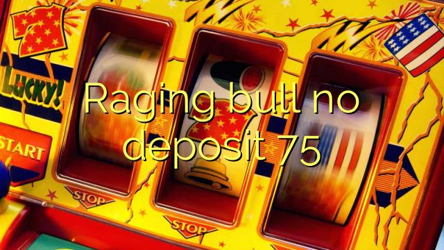 Raging bull არ ანაბარი 75