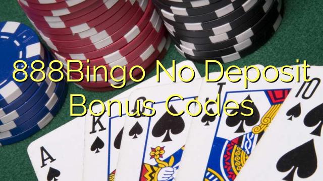 888Bingo Nē depozīta bonusa kodi