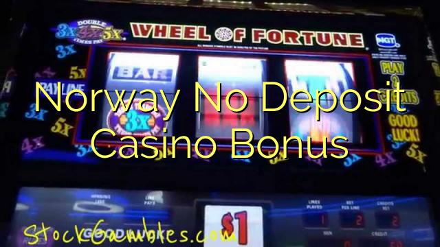 Norge Ingen innskudd Casino Bonus