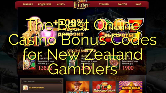 The Best Online Kasino Bonus Kodeu keur New Zealand Gamblers