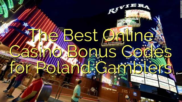 Parimad Interneti-kasiino boonuskoodid Poola mängijatele