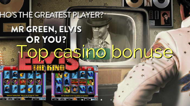 Top casino bonuse
