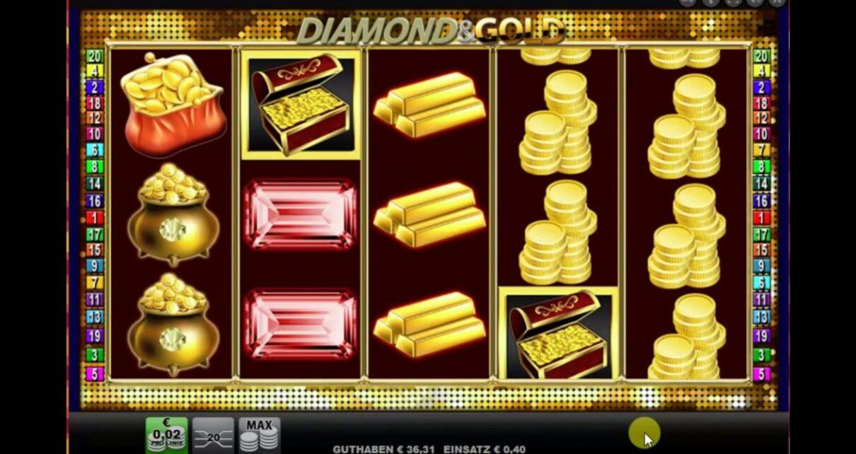 钻石和黄金   默克尔   网上赌场