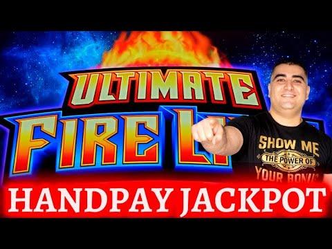 在高限额 Ultimate Fire Link 老虎机上赢得大奖! 在赌场现场玩老虎机